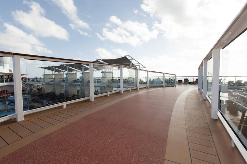 Jogging Track on Celebrity Silhouette