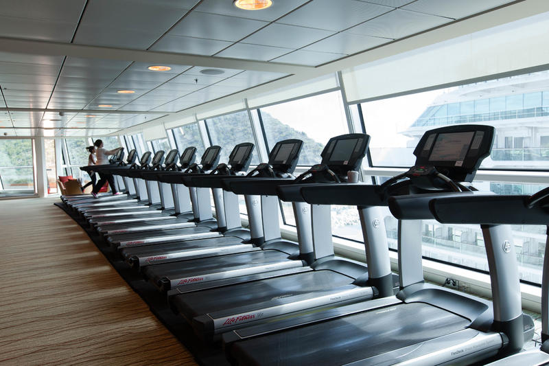 Fitness Center on Celebrity Silhouette