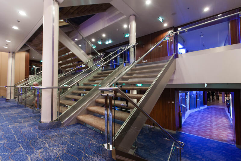 Stairs on Celebrity Silhouette