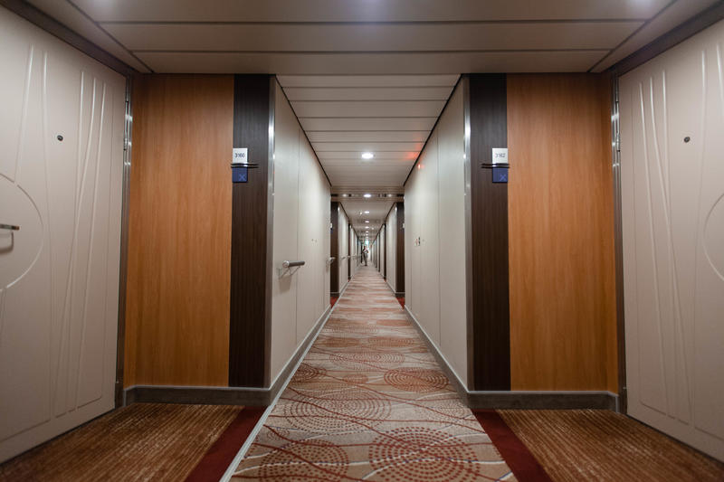 Hallways on Celebrity Silhouette