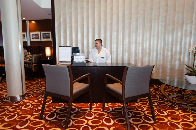 Concierge Lounge on Celebrity Silhouette
