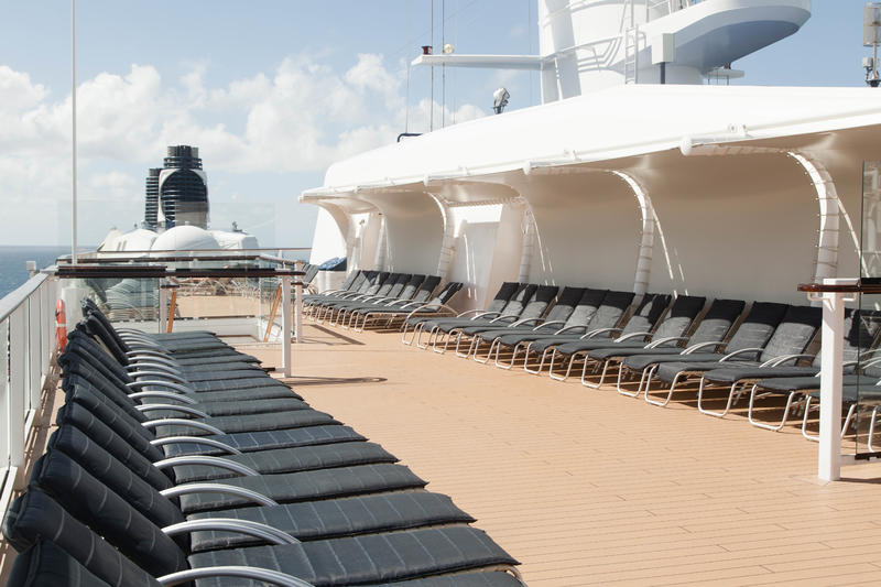 The Sun Decks on Celebrity Silhouette