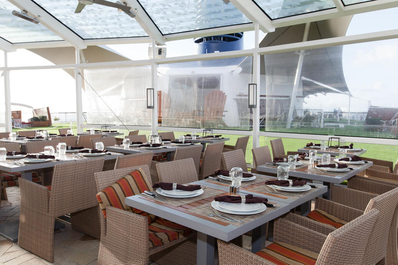 The Lawn Club and Grill on Celebrity Silhouette