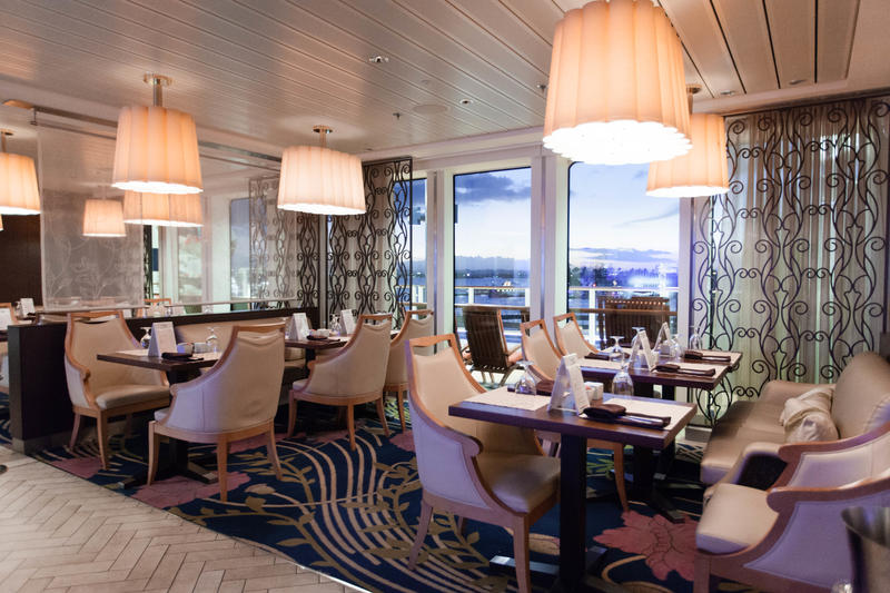 Bistro on Five on Celebrity Silhouette