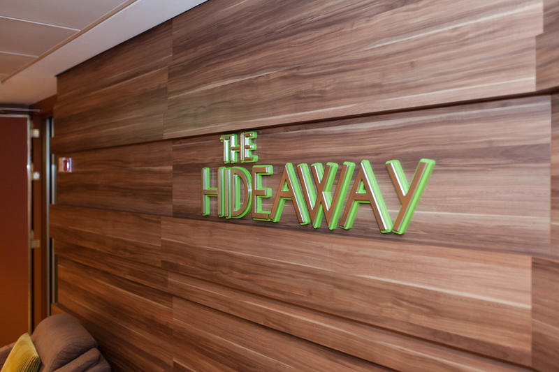 The Hideaway on Celebrity Silhouette