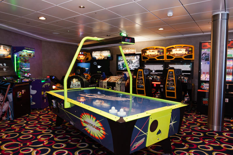Video Arcade on Celebrity Silhouette