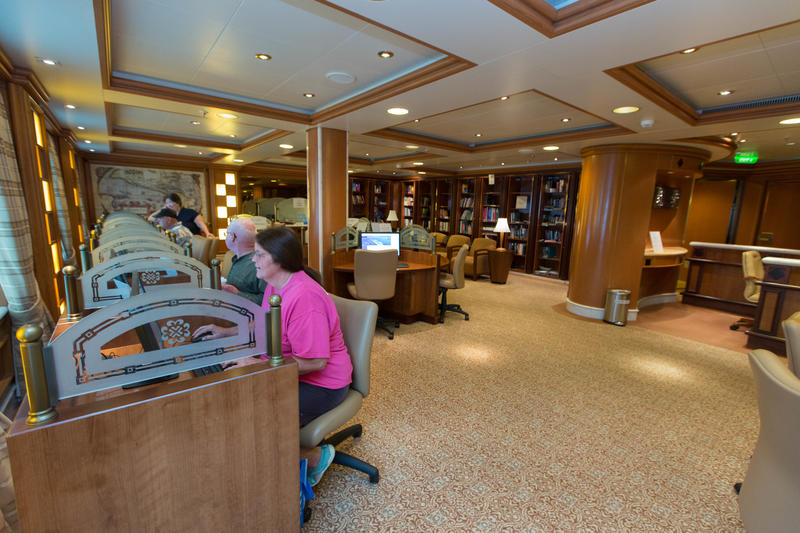 Internet Cafe on Caribbean Princess