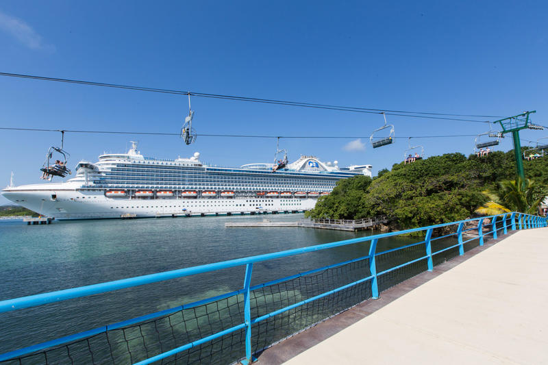 Exterior on Caribbean Princess