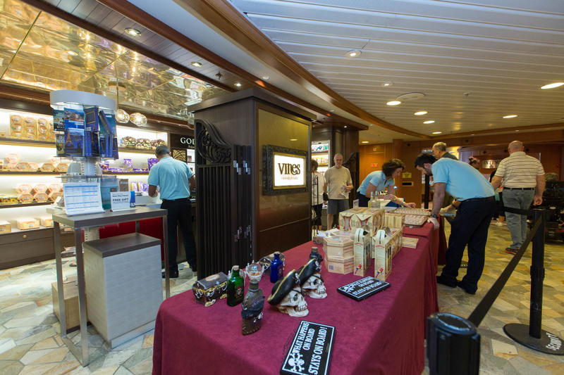 Vines Shop on Caribbean Princess