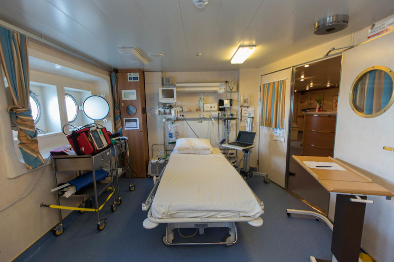 Medical Center on Caribbean Princess