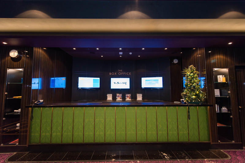 Breakaway Theater Box Office on Norwegian Breakaway