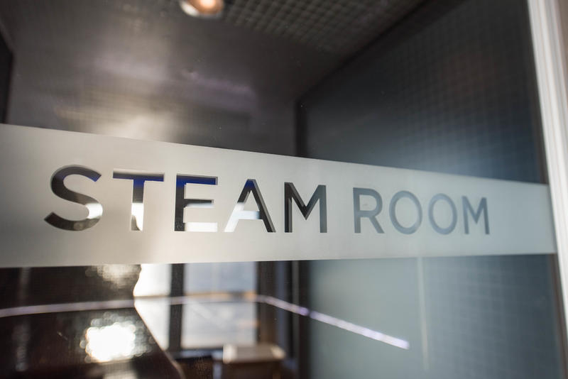Steam Room on Norwegian Breakaway