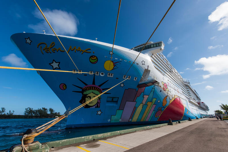 Exterior on Norwegian Breakaway