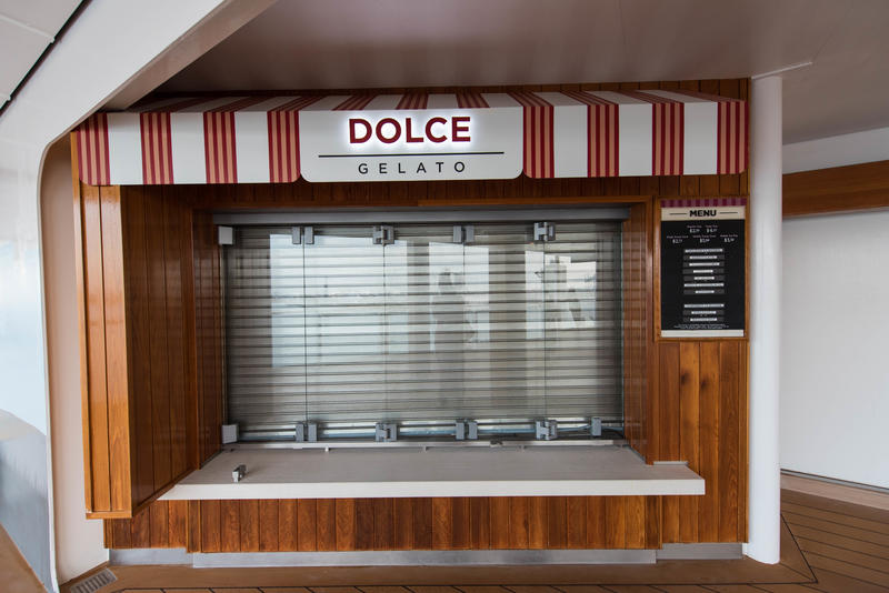 Dolce Gelato on Norwegian Breakaway