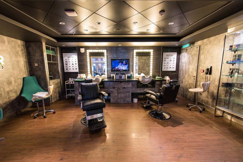 Barber Shop on Norwegian Breakaway