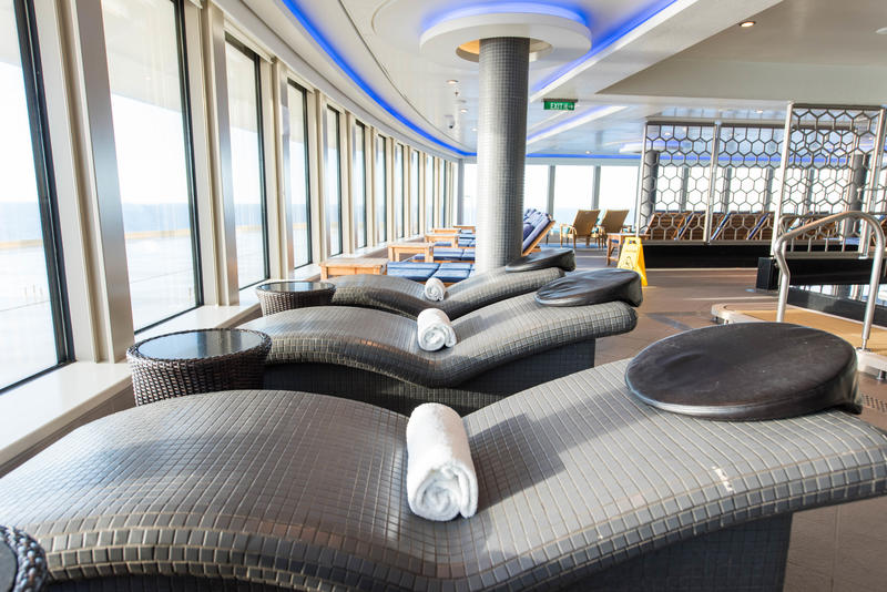 Spa Thermal Suite on Norwegian Breakaway