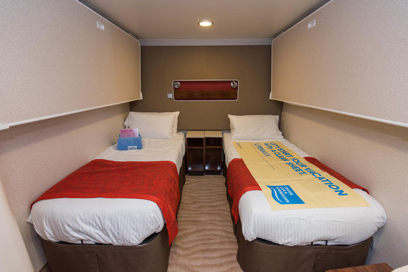 The Interior Cabin Double or Family on Norwegian Breakaway