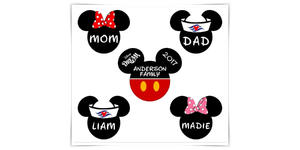 Personalized Disney-Inspired Mickey Magnets (Photo: Amazon)