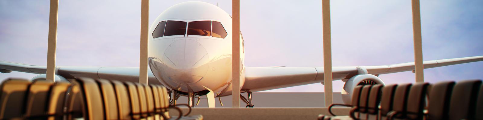 Airline terminal (Photo: Dabarti CGI/Shutterstock.com)
