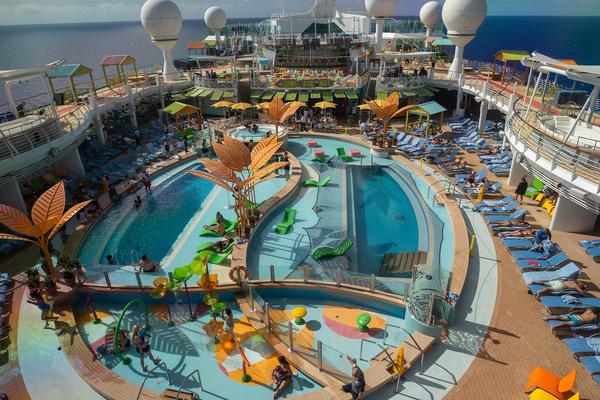 Navigator of the Seas Main Pool (Photo: Royal Caribbean)