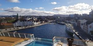 Viking Sky in Stavanger (Photo: Colleen McDaniel)