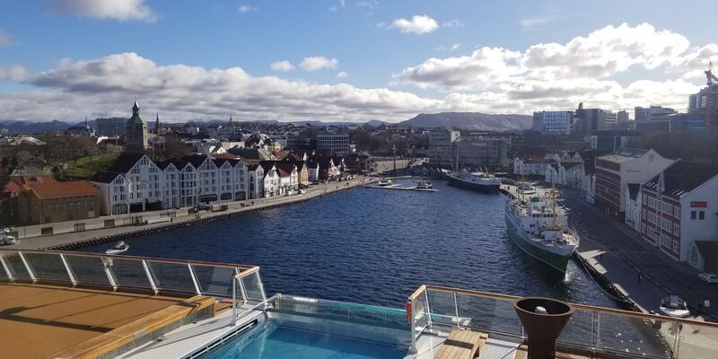 Viking Sky in Stavanger (Photo: Colleen McDaniel)