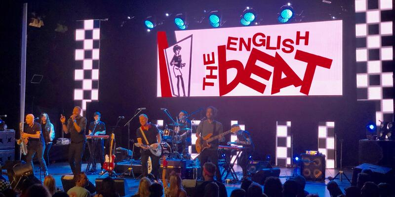 The English Beat Performing Live (Photo: Chris Gray Faust)