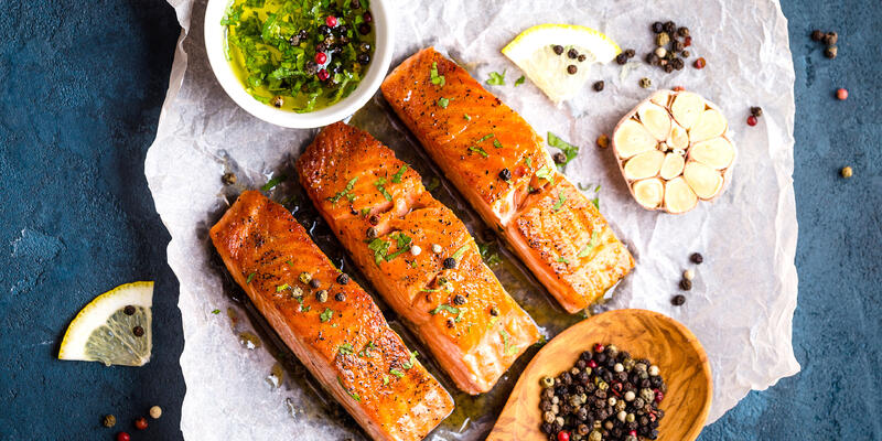 Healthy Salmon Meal (Photo: its_al_dente/Shutterstock)