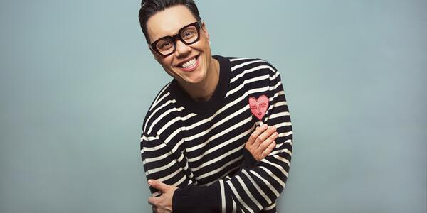 Gok Wan will appear on Sapphire Princess as guest speaker (Image: Chris WR Cox Photography)