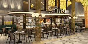 Emeril's Bistro 1396 on Mardi Gras (Image: Carnival Cruise Line)