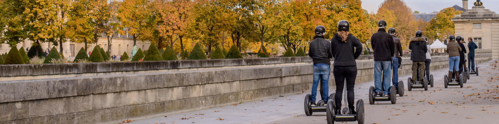 Group segway tour in Paris, France (Photo: Oleg Mikhaylov/Shutterstock)