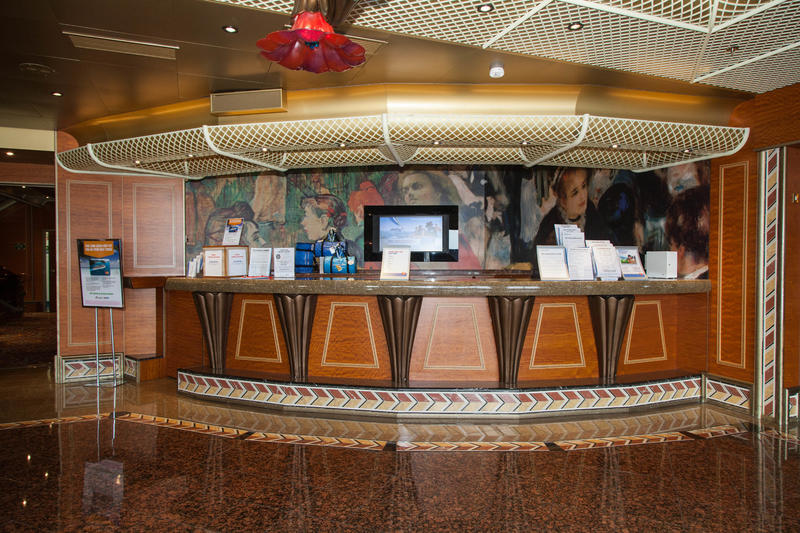Future Cruise Desk on Carnival Conquest