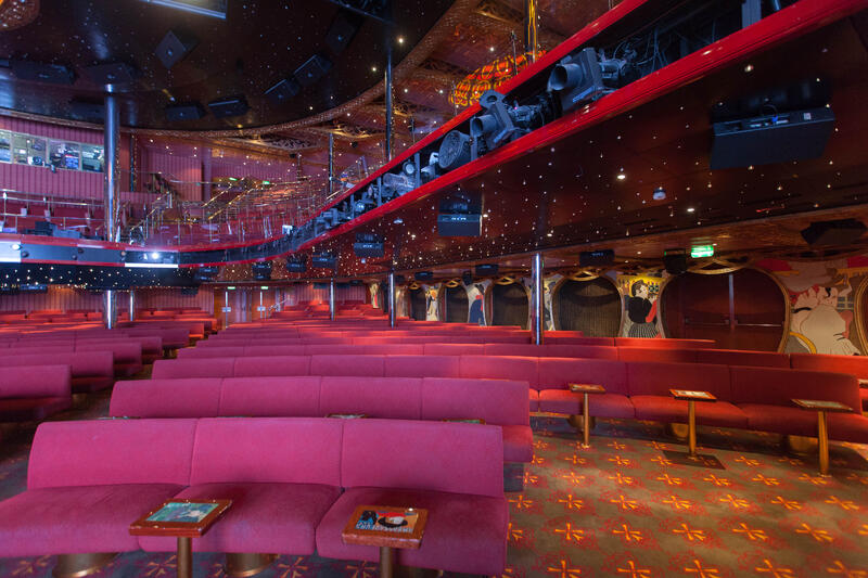 Touluse-Lautrec Main Show Lounge on Carnival Conquest