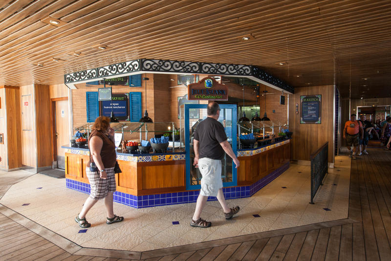 Blue Iguana Cantina on Carnival Conquest