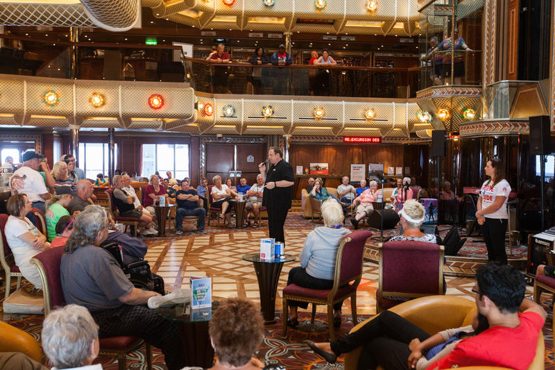 Q&A with Josh on Carnival Conquest