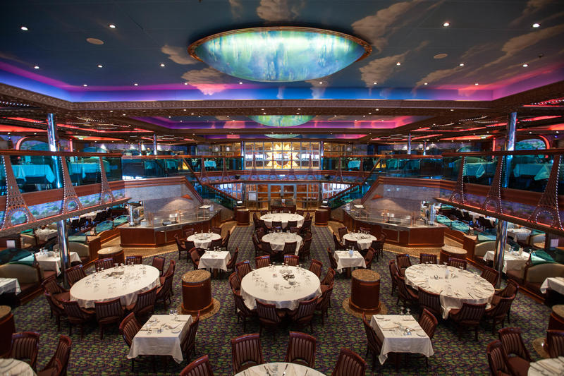 Monet Restaurant on Carnival Conquest