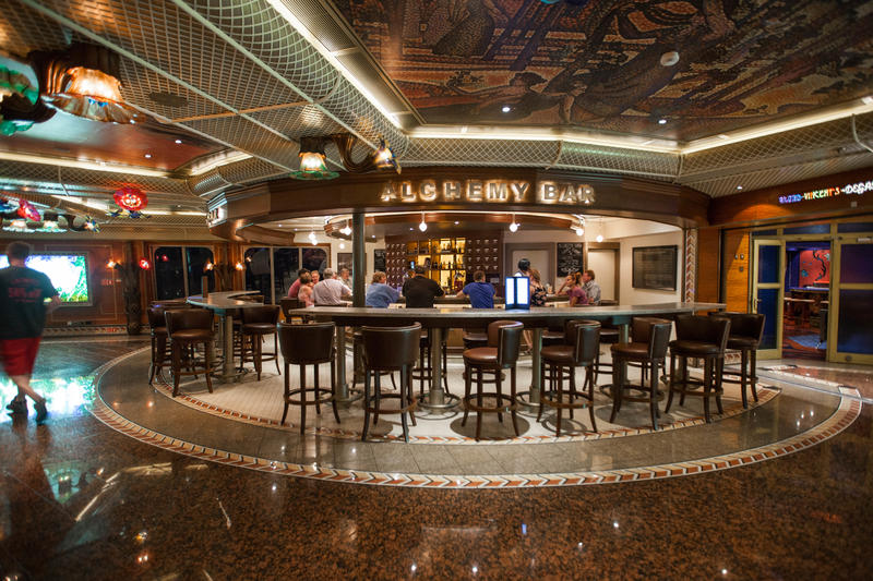 Alchemy Bar on Carnival Conquest