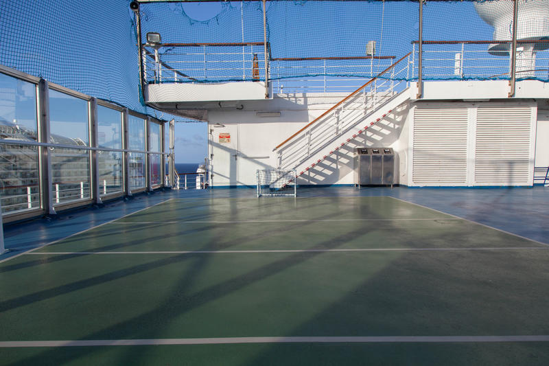 Sports Deck on Carnival Conquest