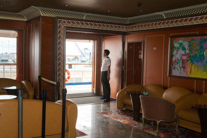 Boarding Area on Carnival Conquest