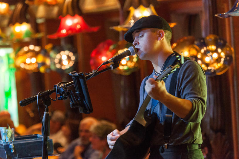 Solo Guitar Sounds with Bradley Edge on Carnival Conquest