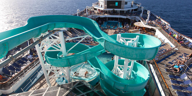 Waterslide on Carnival Conquest (Photo: Cruise Critic)
