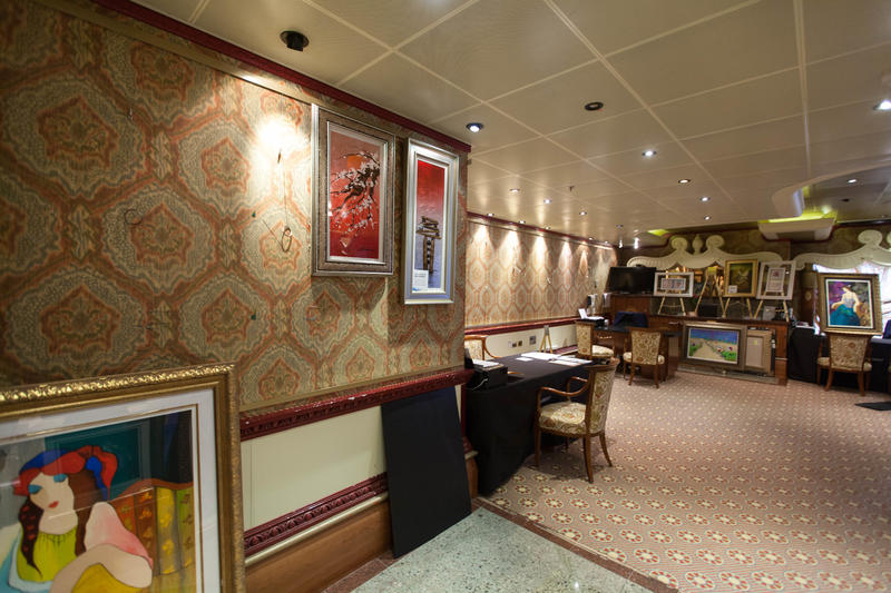 Art Gallery on Carnival Conquest