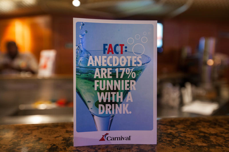 Impressions Bar on Carnival Conquest