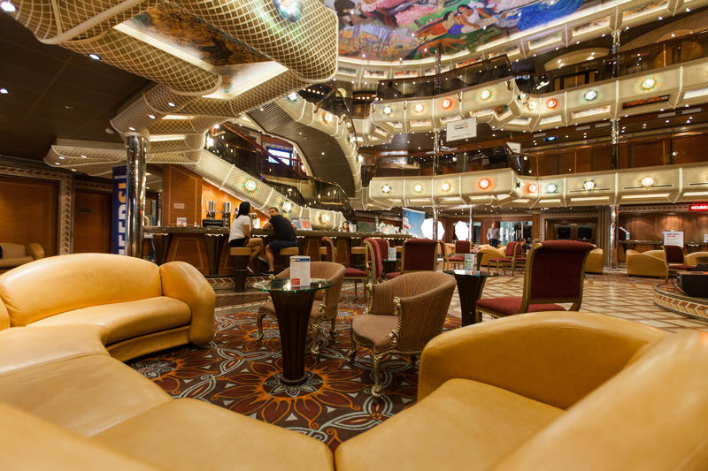 The Studio Atrium on Carnival Conquest
