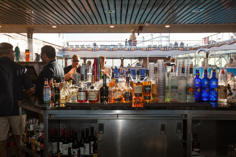 Sky Bar on Carnival Conquest