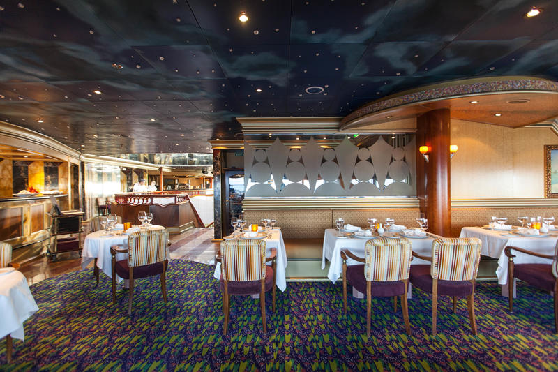 The Point Steakhouse on Carnival Conquest