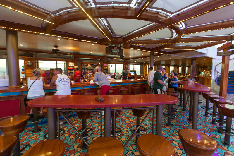 RedFrog Rum Bar on Carnival Conquest