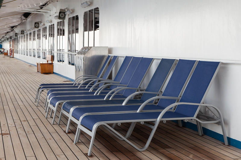 Exterior Deck on Carnival Conquest