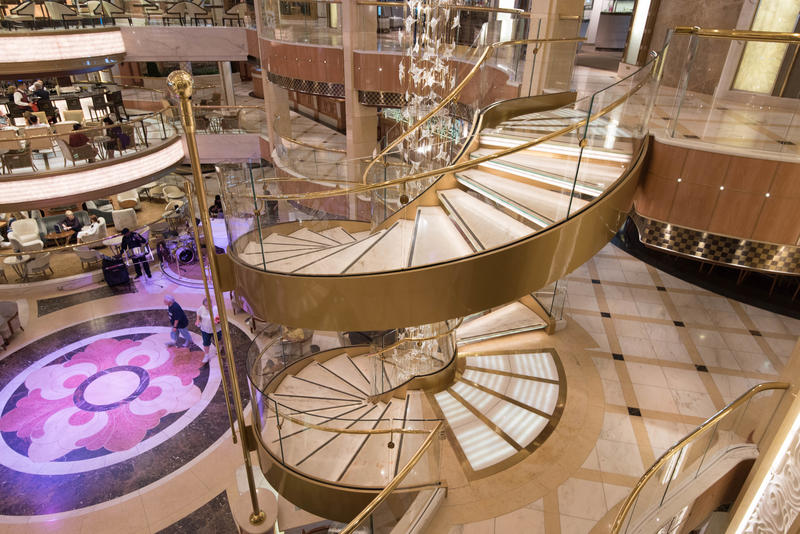 The Piazza on Royal Princess