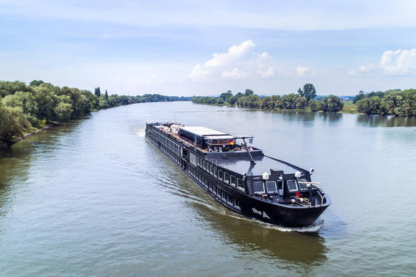 The A on the Rhine River (Photo: U River Cruises)